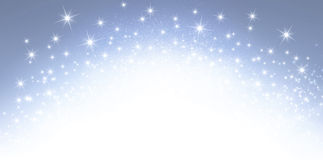 Festive sparkling letterhead Royalty Free Stock Photo