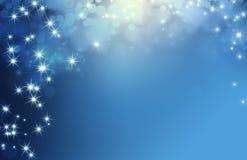 Festive sparkling lights background Stock Photo