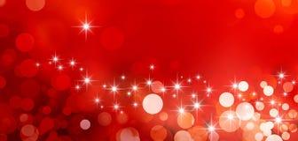 Festive sparkling lights Stock Images