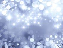 Festive sparkling lights Royalty Free Stock Images