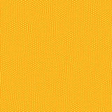 Festive star pattern. Seamless texture of repeating small yellow stars on orange Stock Photo