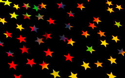 Festive starry background Stock Photography