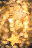 Festive stars Royalty Free Stock Photo