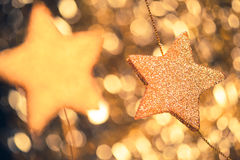 Festive stars Royalty Free Stock Images