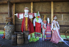 Festive stuffed in Peasant Museum Stock Images