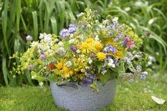 Festive summer bouquet Stock Images