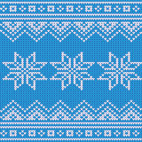 Festive Sweater Design. Seamless Knitted Pattern. Background Stock Images