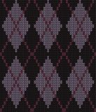 Festive Sweater Design. Seamless Knitted Pattern. Festive Sweater Design. Seamless Winter Knitted Pattern Royalty Free Stock Image