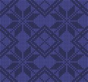 Festive Sweater Design. Seamless Knitted Pattern. Festive Sweater Design. Seamless Winter Knitted Pattern Royalty Free Stock Photos