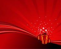 Festive swoosh Royalty Free Stock Images