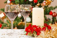Festive table Stock Image