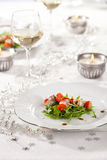 Festive table Royalty Free Stock Photos