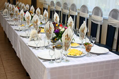 Free Festive Table Stock Photography - 21165232
