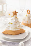 Festive table for Christmas Royalty Free Stock Photo