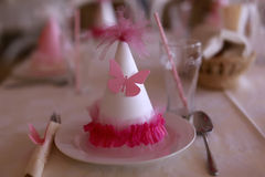 Festive table layout Stock Photography