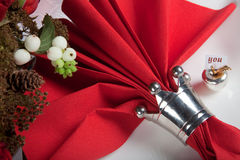 Festive table in red and white 11 Stock Photos