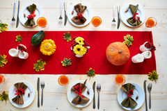 Festive table Royalty Free Stock Image
