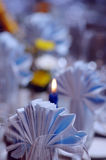 Festive table set up Royalty Free Stock Photography