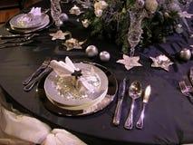 Festive table setting 2 stock photo