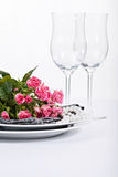 Festive table setting Royalty Free Stock Images