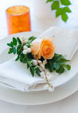 Festive table setting Stock Photography