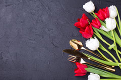 Festive  table setting. Stock Images
