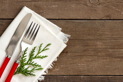 Festive table setting Stock Image