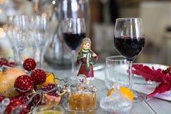 Festive table setting, table setting Stock Photo