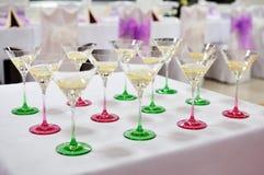Festive table setting table Stock Photos