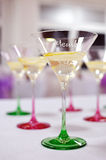 Festive table setting table Royalty Free Stock Photography