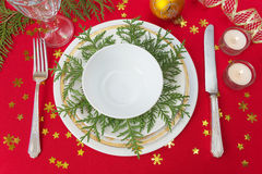 Festive table Stock Photos