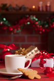 Festive Teabreak Royalty Free Stock Photos