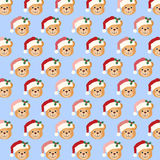 Festive Teddy Bear Stock Images