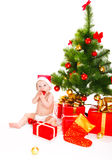 Festive time. For a cute baby Stock Photography