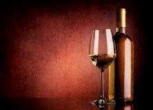 Festive white wine Royalty Free Stock Photo
