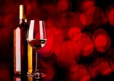 Festive wine Royalty Free Stock Photos