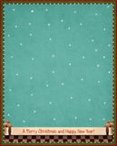Festive winter background. Background for greeting card Christmas or New Year. Computer graphics Royalty Free Stock Image