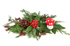 Festive Winter Decoration Royalty Free Stock Photography