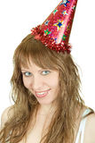 Festive woman Royalty Free Stock Images