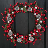 Festive Wreath Royalty Free Stock Image