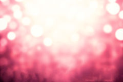Festive xmas abstract background with bokeh defocused lights and Stock Image
