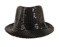 Festively black hat Stock Image
