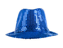 Festively blue hat Stock Photography