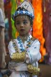 Festively dressed boy Royalty Free Stock Photo