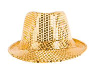 Festively gold hat Royalty Free Stock Image