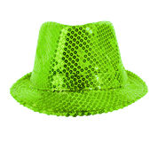 Festively green hat Stock Photos