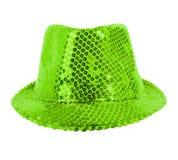 Festively green hat Stock Photos