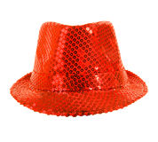 Festively red hat Royalty Free Stock Photos