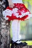 Festively ubierający Fotografia Royalty Free