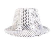 Festively white hat Stock Photos